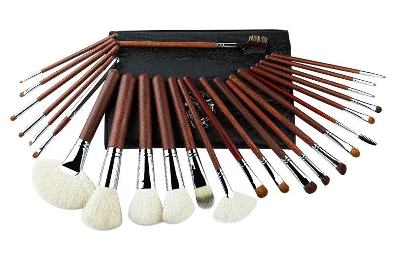 Hair And Sliver Copper Foundation Makeup Brush Kits Full Natural