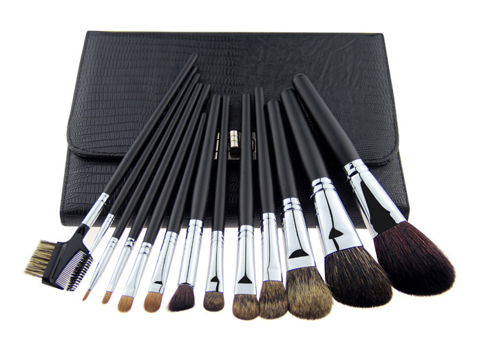 Soft Goat Hair Cosmetic Pro Makeup Brushes Professional Makeup Brush Kits